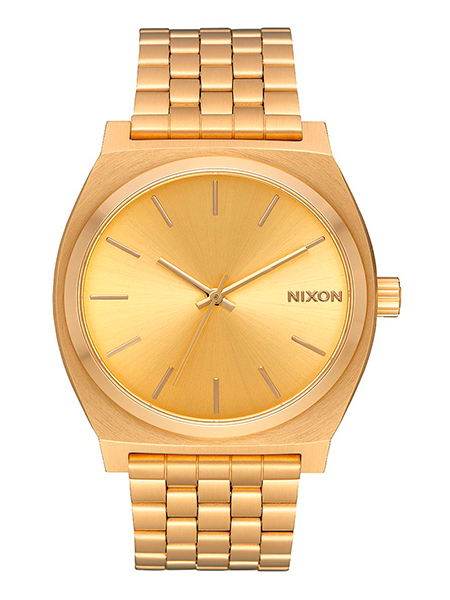 Relogio Nixon Time Teller All Gold/Gold