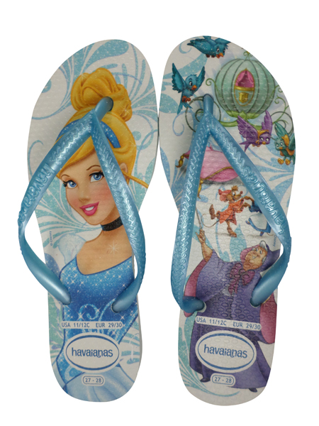 Havaianas Kids Slim Princess Sandal Blue